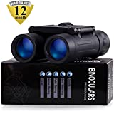 Binoculars with 10x25 Portable High Definition and Blue Film by Merytesdaily waterproof IPX3