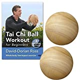 BUNDLE: Tai Chi Ball Workout DVD and two wood starter tai chi balls (YMAA Tai Chi Fitness) David-Dorian Ross **BESTSELLING NEW STARTER PACK**