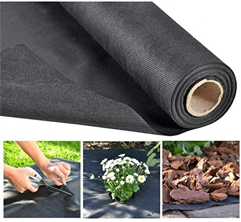 JUNEO - Barrera de Malas Hierbas de Tela para Protección de Plantas y Control de plagas, Ideal para Jardín/Granja Vegetal/Campana: Amazon.es: Jardín