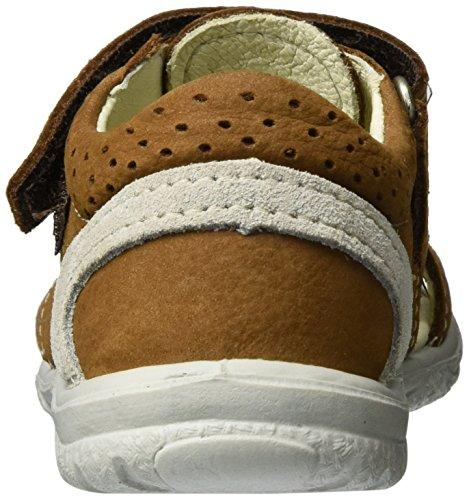 Ricosta Kaspi - Sandalias de vestir de piel para niño Braun (Curry)