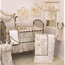Cotton Tale Designs Lollipops and Roses Girl's 8 Piece Crib Bedding Set