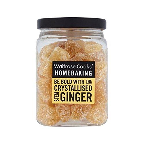 Cooks' Ingredients Crystallised Stem Ginger Waitrose 200g - Pack of 2