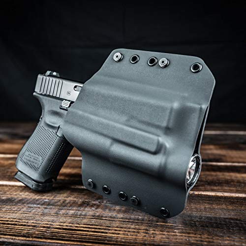 OWB TLR-1 Holster - Black (Right-Hand, Glock 17,22,31)