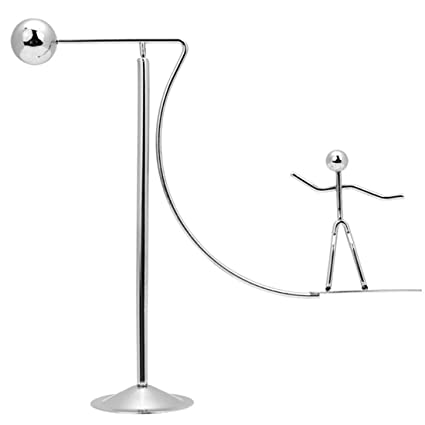 AblueA Balancing Toy Desk Top Decoration Stress Reliever for Office Desk  Physics Gravity (Surfing)