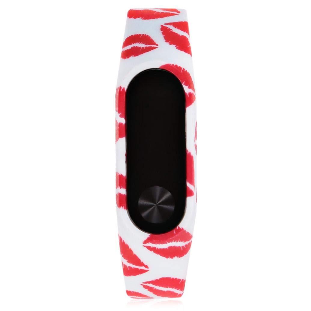 Correas xiaomi Band 2, ☀️Modaworld Nueva Correa del Reloj Elegante de TPU de Manera Pulsera de reemplazo para Xiaomi Miband 2 (B): Amazon.es: Deportes y ...