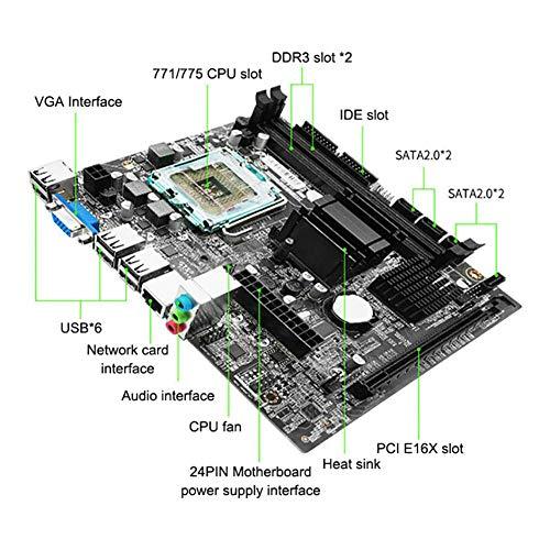 Purefire G41Computer Motherboard LGA775 Pin Dual-core Quad-core Support DDR3 8G PCIE 16x SATA2.0 e5430 CPU Desktop Motherborad