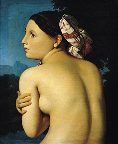Wall Art Print entitled Female Nude, 1807 by The Fine Art Masters