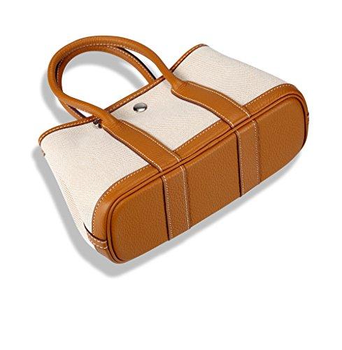 Bambini Con Pesca Aprile Del Giardino Tela Strato Handbags Primario Shinging Litchi 3 Spalla Shopping Modello Ladies Bag Hwdq4BB