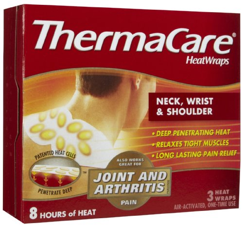 (ThermaCare Neck Wrist and Shoulder HeatWraps 3 ct. (Pack of 2))