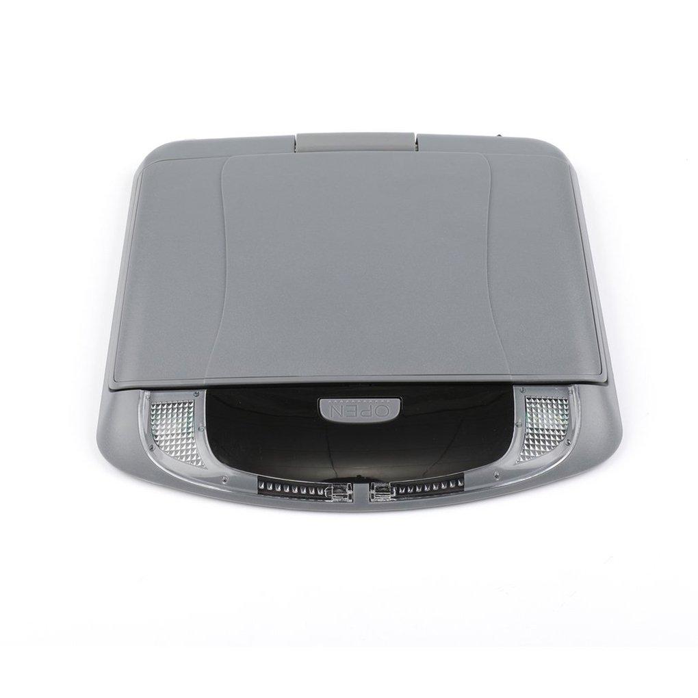Bobury 9 Pulgadas 800 * 480 Coche de la Pantalla de Montaje en Techo Monitor LCD en Color, Tapa de la Pantalla de Arriba Multimedia Video Display de Techo de Montaje en Techo