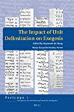 img - for The Impact of Unit Delimitation on Exegesis (Pericope) book / textbook / text book