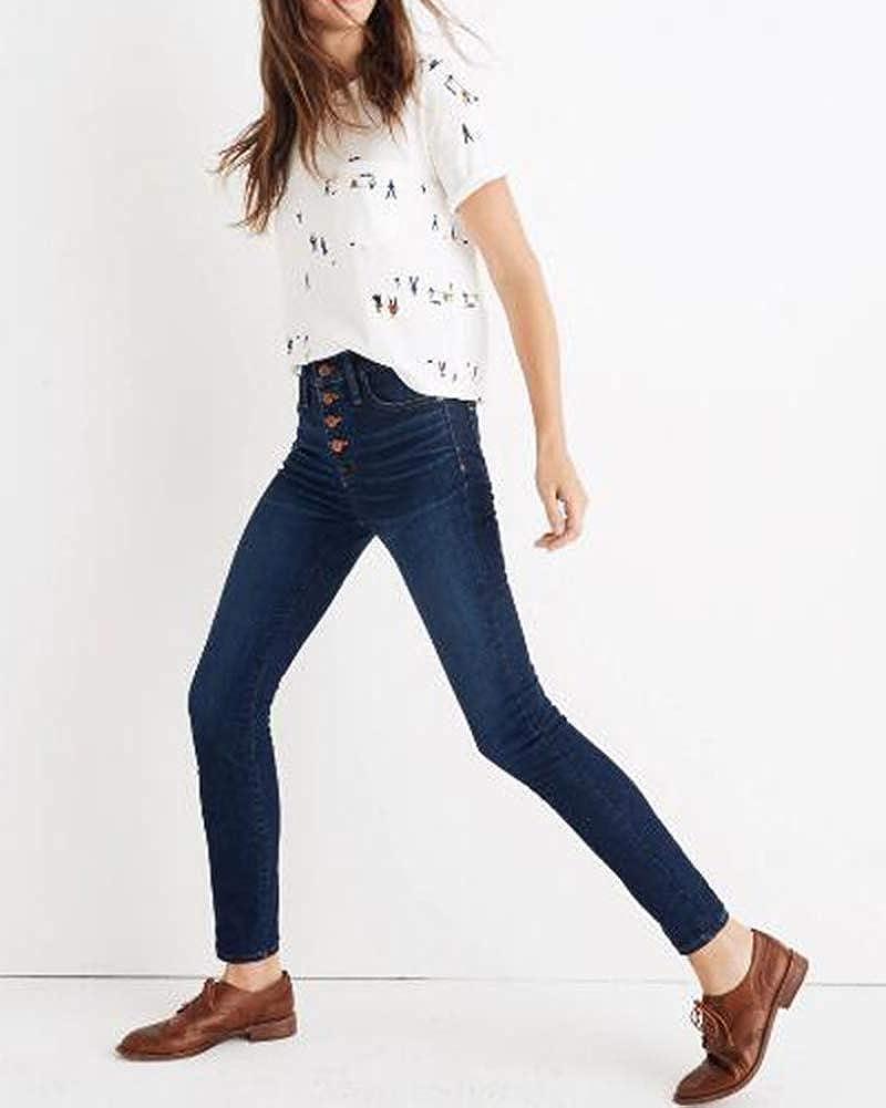 Yiqi Mujer Vaqueros Mallas B/ásicos Skinny Slim Leggings Forrado T/érmico Pantalones