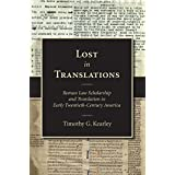 Lost in Translations: Roman Law Scholarship and Translation in Early Twentieth-century America
