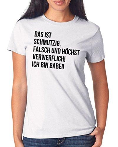 Das Ist Schmutzig T-Shirt Girls White