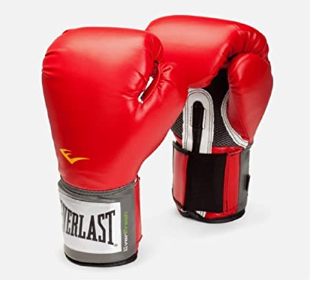 Everlast Pro Style Training Boxing Gloves  Red, 12oz  Boxing Gloves