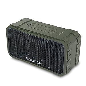Vomach Outdoor Speaker IPX6 Waterproof Stereo Sound Bluetooth Speakers Wireless Portable Speakers