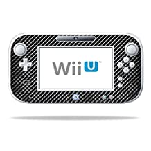 MightySkins Skin For Nintendo Wii U GamePad Controller – Carbon Fiber | Protective, Durable, and Unique Vinyl Decal wrap cover | Easy To Apply, Remove, and Change Styles | Made in the USA