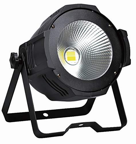 (COLOR'SAGE DJ Par Light, 100W LED Warm White Cool White DMX Wash Sound Activated Stage Lighting for Wedding, Outdoor Architectural, Concerts, TV studio,)