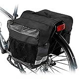 Hebey Pannier Bag Waterproof Bike Rear Seat Trunk Bag Bicycle Rear Saddle Panniers Accesories