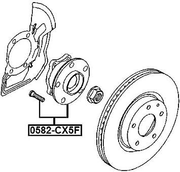 Front Wheel Hub Febest 0582-CX5F Oem KD35-33-04XC