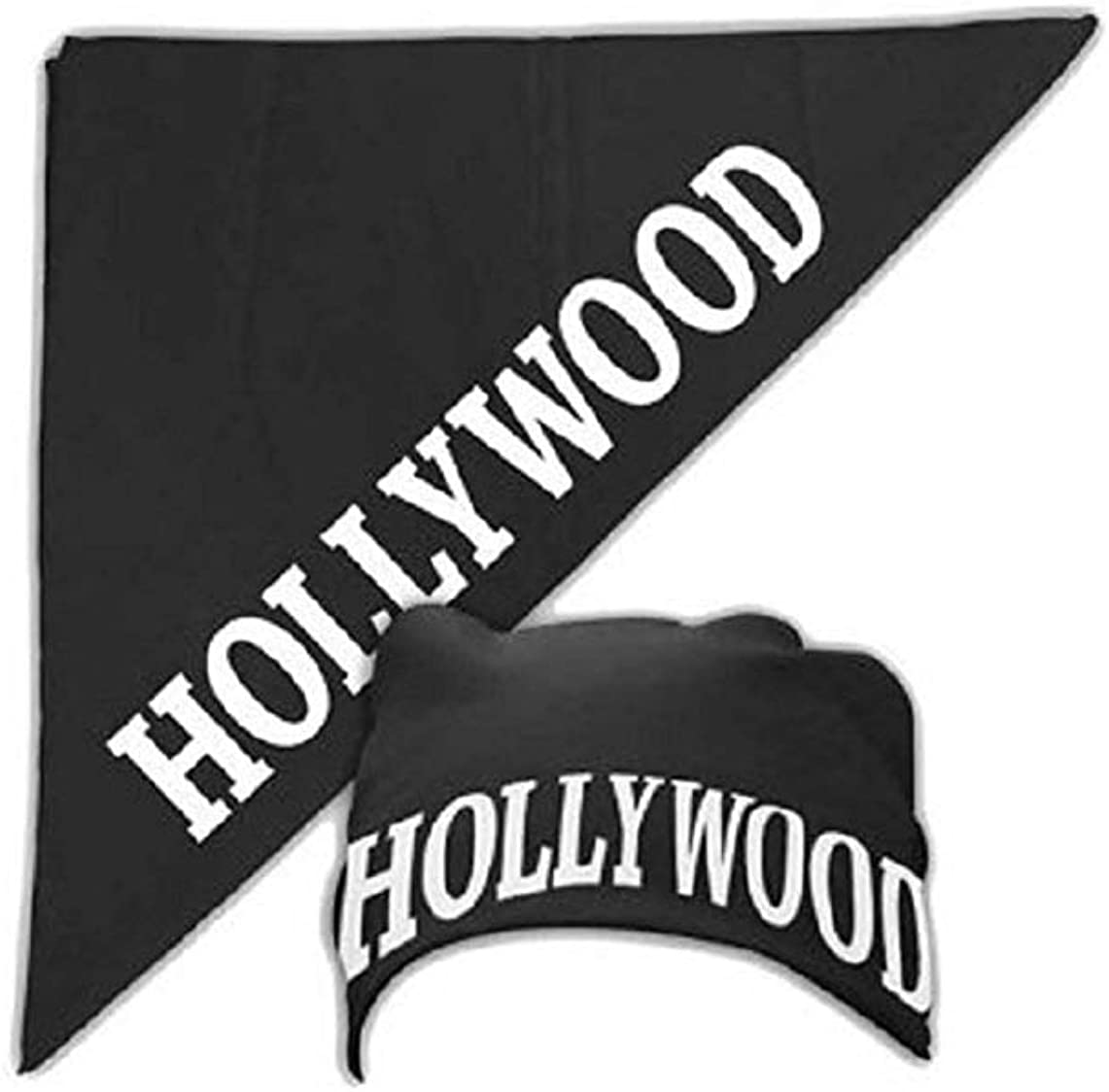 Halloween Costume Accessory Hollywood Black Bandana