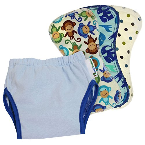 Toilet Natural Training (Best Bottom Potty Training Kit, Blueberry, Small)