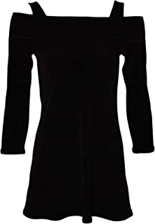 product image for Eva Varro 3/4 Sleeve Bra Friendly Off Shoulder Tunic