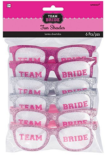 Team Bride Funshades (Bachelorette Glasses)