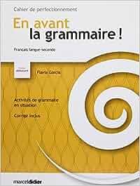 en avant la grammaire debutant pdf