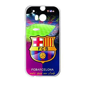 Fcbarcelona High Quality Plastic Cover for HTC M8case