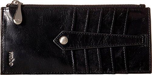 HOBO Vintage Linn Wallet Credit Card Holder, Black, One Size