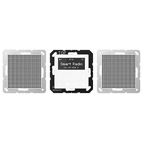 Jung Smart Radio Stereo Headset S/érie A Blanc Alpin/ /1/V/élo A 528/WW