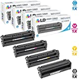 LD Compatible Toner Cartridge Replacements for Samsung CLT-503L High Yield (1 Black, 1 Cyan, 1 Magenta, 1 Yellow, 4-Pack)