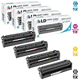LD Compatible Samsung CLT-503L Series Set of 4 High Yield Toner Cartridges: (1) CLT-K503L Black, (1) CLT-C503L Cyan, (1) CLT-M503L Magenta & (1) CLT-Y503L Yellow for C3010DW and C3060FW MFP