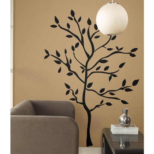 RoomMates RMK1317GM Tree Branches Peel & Stick Wall Decals (Black Wall Decals compare prices)