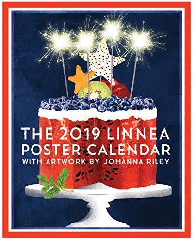 2019 Poster Calendar - Linnea Design 2019 Poster Wall Calendar 14 X 11 Inches Art by Johanna Riley