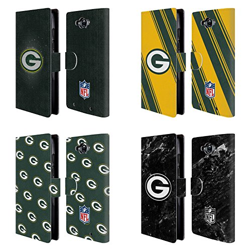 Official NFL 2017/18 Green Bay Packers Leather Book Wallet Case Cover For Motorola DROID Turbo