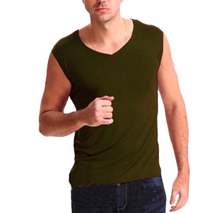 ea60db7c0775cb GladiolusA Unterhemden Tank Top Für Herren Unterhemd Muskelshirt V- Ausschnitt Tanktop Unterziehshirt Große Größe  Amazon.de  Bekleidung