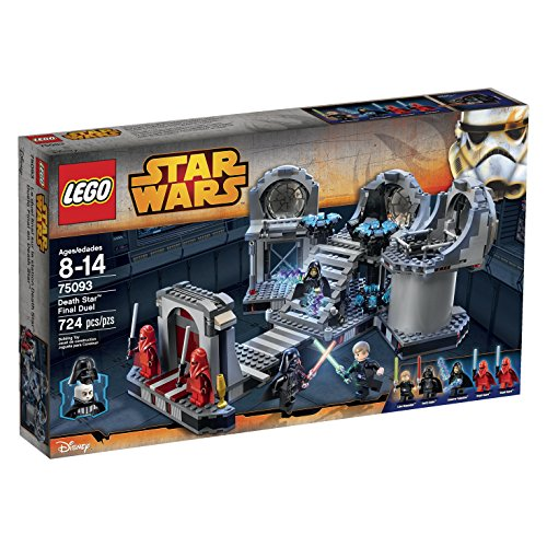 LEGO Star Wars Death Star Final Duel 75093 Building Kit (Arrest Palpatine Lego Wars Star)