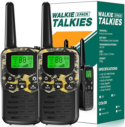 EKOOS Walkie Talkies Long Range