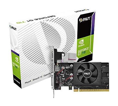 Palit GeForce GT710 - Tarjeta gráfica (2 GB, GDDR5): Amazon.es ...