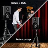 Pyle Dual Studio Monitor 2 Speaker Stand Mount