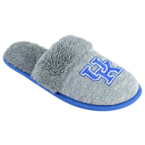 College Edition NCAA Kentucky Wildcats Women's Scuffscuff Shoes, Gray, X-Large