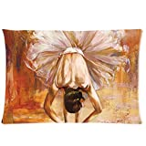 LiFei Business Girl in the Dance Ballet Custom Pillowcase 20''x30'' Two Sides Pillow Case