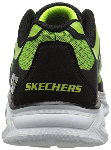 Skechers Dynamo - zapatilla deportiva de lona niños negro - Schwarz (Bklm)