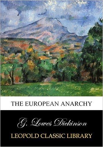 Book The European anarchy
