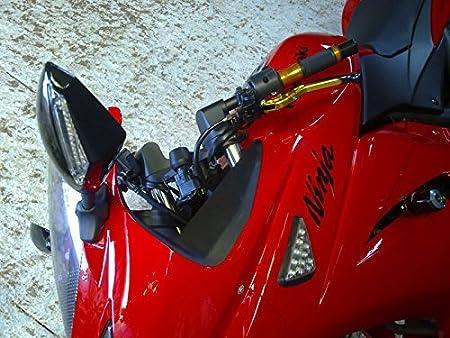 TUONO//R 2003-2010 SL1000 2000-2004 Tencasi Oro Pieghevole Estensibile Regolabile Freni e frizione Leve per Aprilia RSV MILLE//R 1999-2003 FALCO