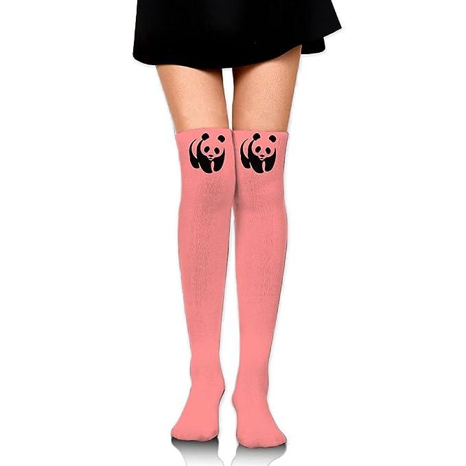 2909ff2a754b0 Women Thigh High Socks Over Knee Panda Extra Long Tube Dress Retro Winter  Warm Legging Slim