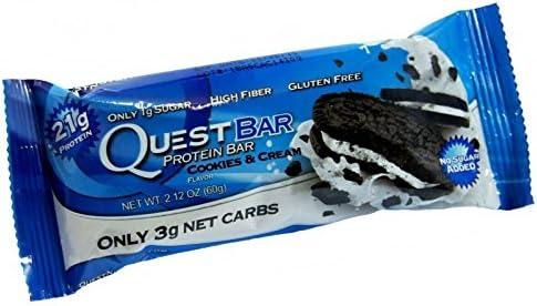 Quest Nutrition Quest Protein Bar Riegel Cookies & Cream (1x 60g Riegel)
