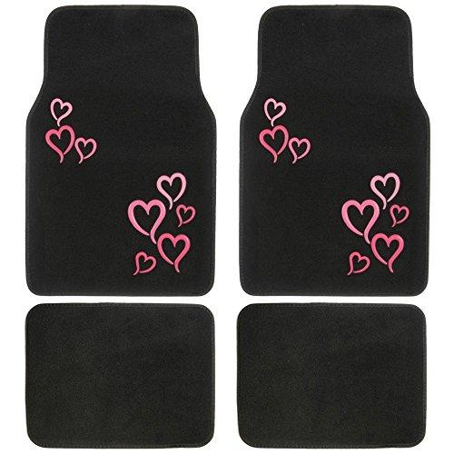 car floor mat pink - 8